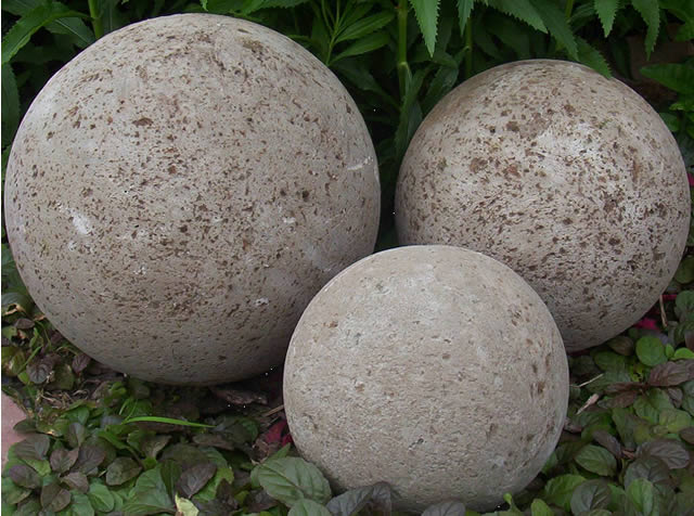 $30.00, Hypertufa Garden Spheres